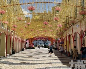 旅遊區商戶展望國慶黃金周