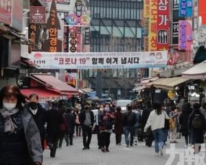 韓國新增確診創單日新高