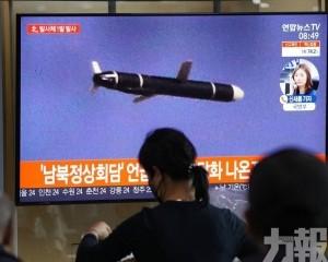 朝鮮發射一枚疑似近程導彈