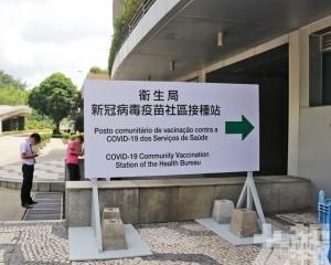 明起各疫苗接種站點恢復運作
