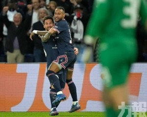 美斯斬賽季首球 PSG勝出「金錢對決」