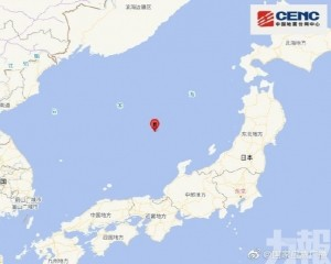 北海道至福島震感強烈