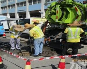 市政署現正加強疏通下水道工作