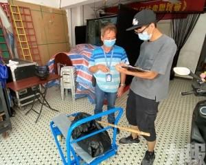 市政署籲風暴期間勿棄置生活垃圾