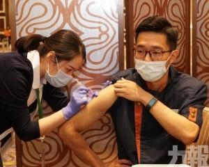四博企公布員工疫苗接種率
