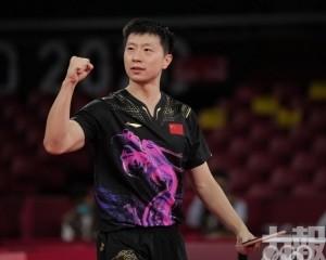 中國男乒強勢三局橫掃德國