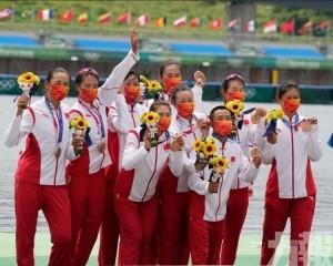 中國摘銅追平奧運最佳表現