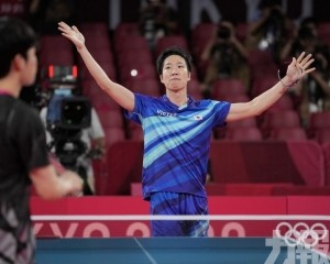 日本乒乓球名將水谷隼宣布退役