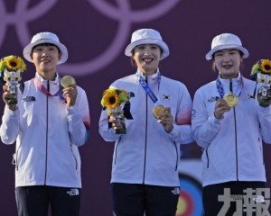 韓國射箭女團決賽6:0橫掃