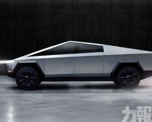 Tesla發布六座電動Cybertruck