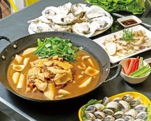 大滿足生蠔海鮮雞煲