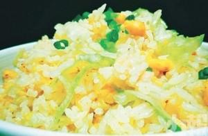 薑汁鹹魚雞粒炒飯