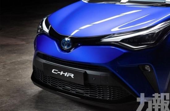 全新豐田C-HR即將登場