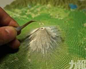超像真立體富士山拼圖