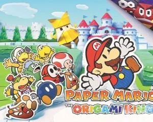 經典Mario變身摺紙人