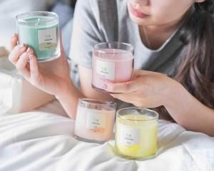 台灣手搖店推香氛蠟燭禮盒