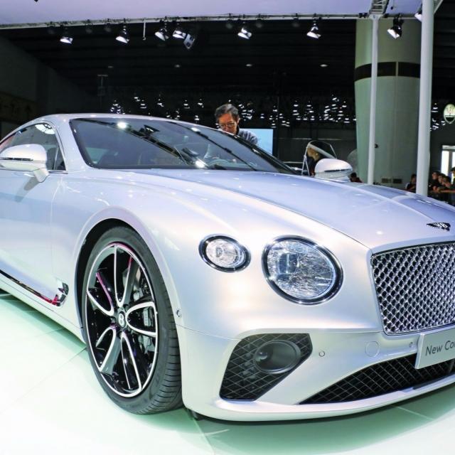 賓利歐陸GT亞洲首展