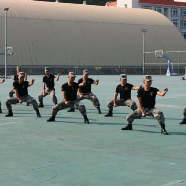 澳門學生赴中山基地訓練