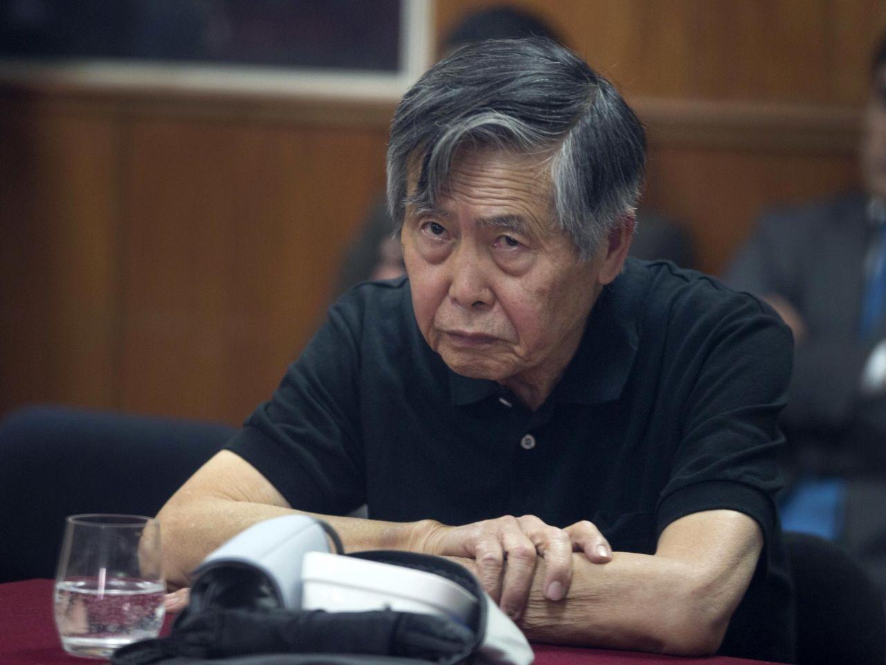 秘魯在囚前總統藤森獲特赦