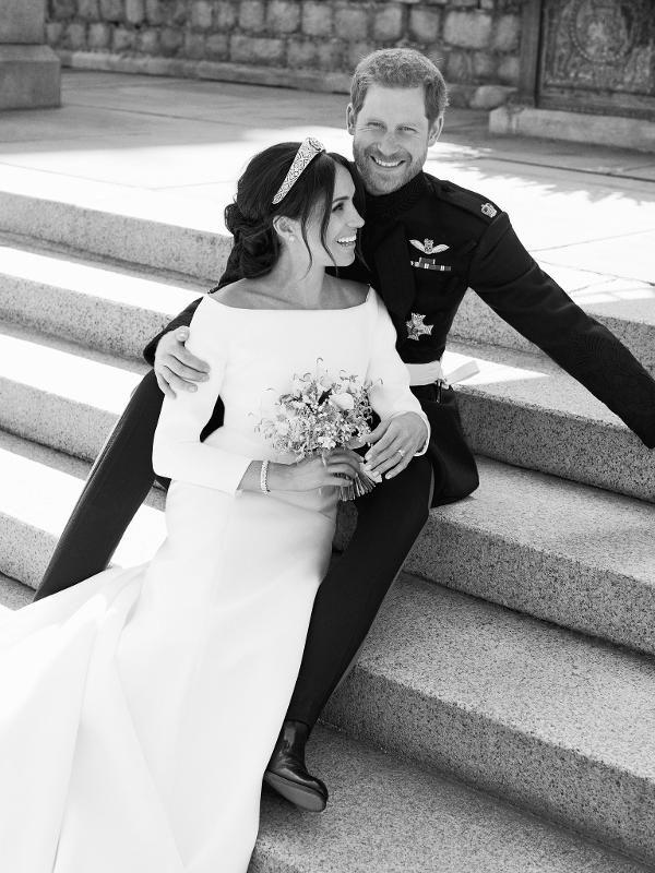英皇室發放哈里梅根禮婚官方照片