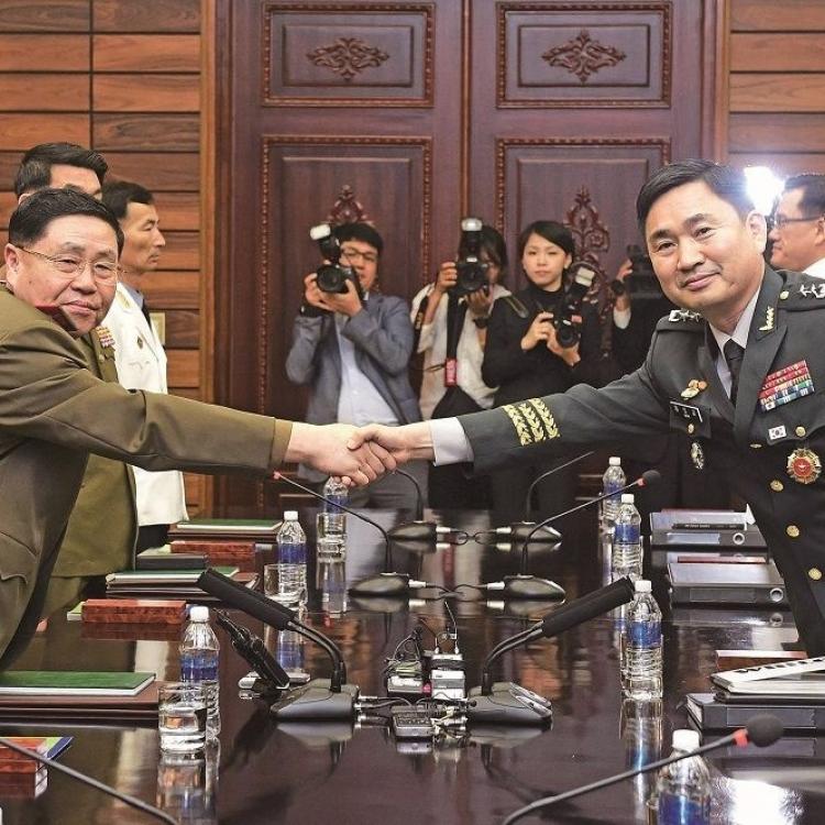 韓朝重啟高層軍事會談